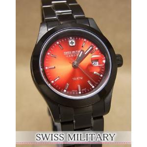 【7年保証】♪スイスミリタリー腕時計 レディース 女性用  エレガントビビッド 【ML275】|mcoy