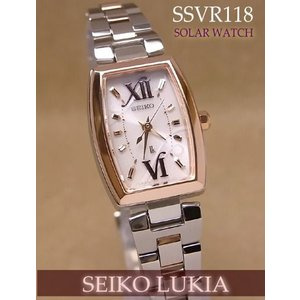 送料無料!♪セイコー(SEIKO) ルキア(LUKIA) レディース ソーラー腕時計 【SSVR118】 (正規品)【02P27Sep14】|mcoy