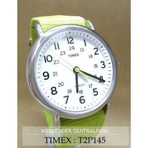【7年保証】TIMEX(タイメックス) メンズ 男性用腕時計 ウィークエンダー セントラルパーク 【T2P145】(国内正規品)|mcoy