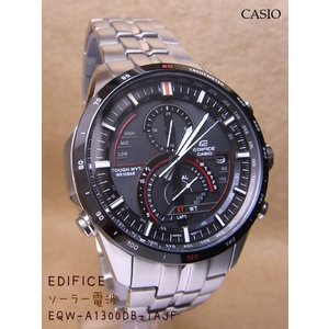 【7年保証】送料無料!カシオ  EDIFICE! メンズ 男性用ソーラー電波腕時計 【EQW-A1300DB-1AJF 】 (国内正規品)|mcoy