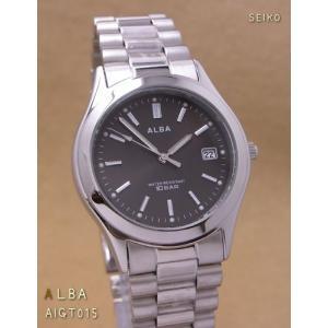 【7年保証】セイコー(SEIKO)アルバ メンズ 男性用腕時計 【AIGT015】(国内正規品)|mcoy