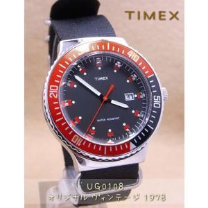 【7年保証】TIMEX(タイメックス)メンズ 男性用腕時計 オリジナル・ヴィンテージ 1978 【UG0108】(国内正規品)|mcoy