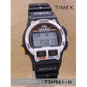 【7年保証】タイメックスメンズ 男性用腕時計 アイアンマン8ラップ 1986エディションブラック/シルバー 【T5H961-N】(国内正規品)|mcoy