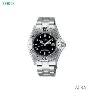 【7年保証】セイコー(SEIKO) アルバ(ALBA) SOLAR(ソーラー)メンズ 男性用腕時計 200m潜水用防水【AEFD529】(国内正規品)|mcoy