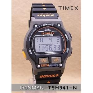 【7年保証】タイメックス メンズ 男性用腕時計 アイアンマン8ラップ 1986エディション ブラック/オレンジ 【T5H941-N】(国内正規品)|mcoy