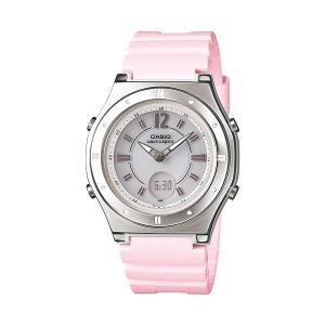 【7年保証】カシオ(CASIO) レディース 女性用  ソーラー電波腕時計 WAVE CEPTOR【LWA-M142-4AJF】 (国内正規品)|mcoy