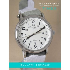 【7年保証】TIMEX(タイメックス)メンズ 男性用腕時計 Weekender フルサイズ 【T2P366JP】(国内正規品)|mcoy