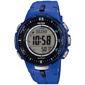 【7年保証】カシオ PROTREK メンズ 男性用ソーラー電波腕時計 【PRW-3000-2BJF】(国内正規品)|mcoy