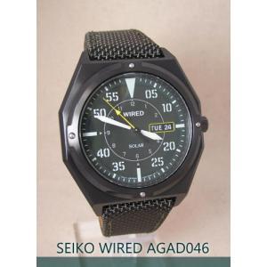 【7年保証】セイコー(SEIKO)メンズ 男性用 ワイアード ソーラー腕時計 【AGAD046】(国内正規品)|mcoy