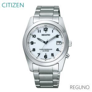 【7年保証】シチズンレグノ メンズ 男性用腕時計  ソーラーテック 電波時計 10気圧防水【RS25-0482H】 (国内正規品) mcoy