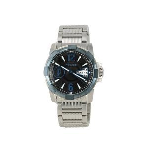 【7年保証】ポリス(POLICE) SCOUT メンズ 男性用腕時計 【12221JSBL-02M】(国内正規品)|mcoy