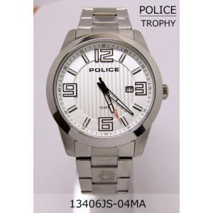 【7年保証】♪ポリス(POLICE) TROPHY メンズ 男性用腕時計 【13406JS-04MA】(国内正規品)|mcoy