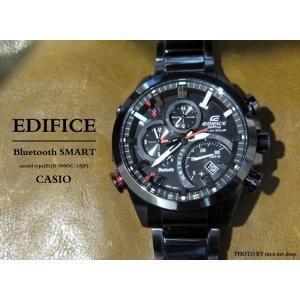 【7年保証】送料無料!カシオ エディフィス ソーラー腕時計モバイルリンク連携機能付 【EQB-500DC-1AJF】(国内正規品)|mcoy