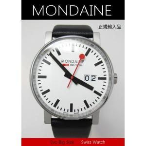 【7年保証】モンディーン メンズ 男性用腕時計エヴォ ビッグデイト  【A627.30303.11SBB】 (正規輸入品)|mcoy