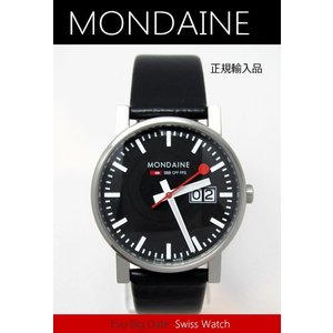 【7年保証】モンディーン メンズ 男性用腕時計 エヴォ メンズ 男性用ビッグデイト & ビッグサイズ 【A669.30300.14SBB】 (正規輸入品)|mcoy