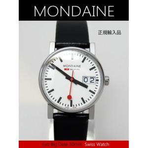 【7年保証】モンディーン腕時計 エヴォ ビッグデイト レディース 女性用   30mm〔A669.30305.11SBB〕 (国内正規品)|mcoy