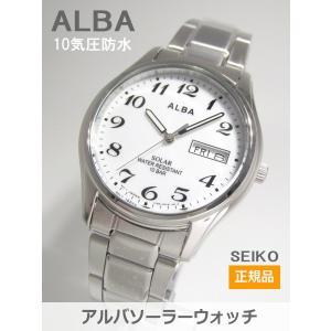【7年保証】セイコー(SEIKO) アルバ(ALBA) SOLAR(ソーラー)メンズ 男性用腕時計【AEFD539】(国内正規品)|mcoy