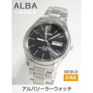 【7年保証】セイコー(SEIKO) アルバ(ALBA) SOLAR(ソーラー)メンズ 男性用腕時計【AEFD540】(国内正規品)|mcoy