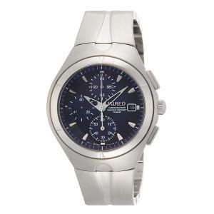 【7年保証】 セイコーメンズ 男性用ワイアード クロノグラフ腕時計 AGAV115 国内正規品|mcoy
