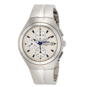 【7年保証】 国内正規品 セイコー SEIKO メンズ 男性用 ワイアード クロノグラフ腕時計 AGAV118|mcoy