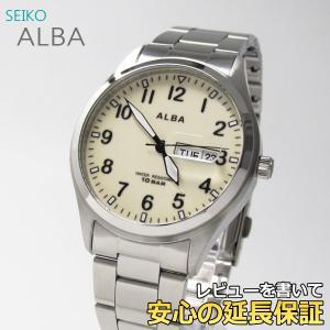 【7年保証】 セイコー アルバ メンズ腕時計 【AQGJ404】 (正規品) ALBA|mcoy