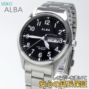 【7年保証】 セイコー アルバ メンズ腕時計 【AQGJ405】 (正規品) ALBA|mcoy