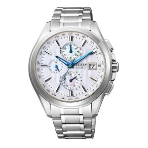 【7年保証】送料無料シチズン(CITIZEN) メンズ 男性用 エコ・ドライブ電波腕時計 エクシード(EXCEED) 【AT8070-56A】(国内正規品) mcoy