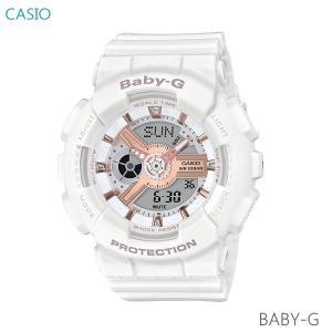 レディース 腕時計 7年保証 カシオ BABY-G デジタル×アナログ BA-110RG-7AJF 正規品|mcoy