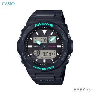 レディース 腕時計 7年保証 カシオ BABY-G G-LIDE BAX-100-1AJF 正規品|mcoy