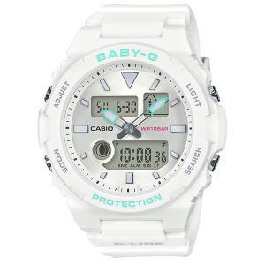 レディース 腕時計 7年保証 カシオ BABY-G G-LIDE BAX-100-7AJF 正規品|mcoy