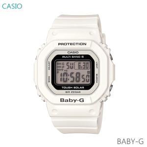 レディース 腕時計 7年保証 カシオ BABY-G ソーラー 電波 BGD-5000-7JF 正規品|mcoy