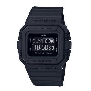メンズ 腕時計 7年保証 カシオ G-SHOCK DW-D5500BB-1JF 正規品 オールブラックモデル|mcoy