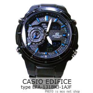 【7年保証】 カシオ エディフィス メンズ 男性用 腕時計 【EFA-131BKJ-1AJF】 (国内正規品)CASIO EDIFICE|mcoy