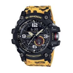 メンズ 腕時計 7年保証 送料無料 カシオ G-SHOCK MUDMASTER GG-1000WLP-1AJR 正規品 WILDLIFE PROMISINGコラボ|mcoy