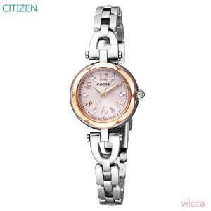 レディース 腕時計 7年保証 シチズン ウィッカ ソーラー KF2-510-11 正規品 CITIZEN wicca|mcoy