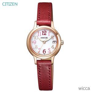 レディース 腕時計 7年保証 シチズン ウィッカ ソーラー KH4-963-10 正規品 CITIZEN wicca|mcoy
