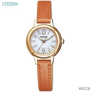 レディース 腕時計 7年保証 シチズン ウィッカ ソーラー KH9-922-12 正規品 CITIZEN wicca|mcoy