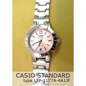 CASIO レディース腕時計 スタンダード  LTP-1177A-4A1JF  (正規品)【02P27Sep14】|mcoy