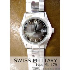 【7年保証】 スイスミリタリー エレガント メンズ 男性用 腕時計 【ML-179】 (正規輸入品) SWISS MILITARY ELEGANT|mcoy