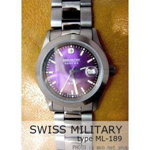 【7年保証】スイスミリタリー エレガントブラック メンズ 男性用 腕時計 【ML-189】 (正規輸入品) SWISS MILITARY ELEGANT BLACK|mcoy