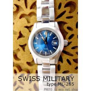 【7年保証】スイスミリタリー エレガント レディース 女性用  腕時計 【ML-265】 (正規輸入品) SWISS MILITARY ELEGANT|mcoy