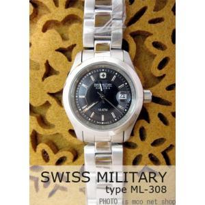 【7年保証】スイスミリタリー エレガントプレミアム レディース 女性用  腕時計 【ML-308】 (正規輸入品) SWISS MILITARY ELEGANT PREMIUM|mcoy