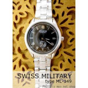 【7年保証】 スイスミリタリー ローマン レディース 女性用  腕時計 【ML-349】 (正規輸入品) SWISS MILITARY ROMAN|mcoy