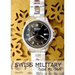 【7年保証】 スイスミリタリー ローマン レディース 女性用  腕時計 【ML-366】 (正規輸入品) SWISS MILITARY ROMAN|mcoy