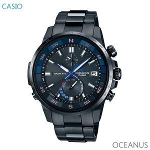 メンズ 腕時計 7年保証 送料無料 カシオ オシアナス ソーラー 電波 OCW-P1000B-1AJF 正規品 CASIO OCEANUS|mcoy
