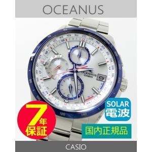 【7年保証】 CASIO OCEANUS(オシアナス) クラシックライン スマートアクセス 国内正規品 ソーラー電波 メンズ 男性用腕時計 【OCW-T2600B-1AJF】|mcoy