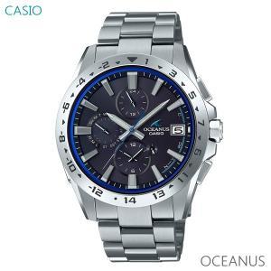 メンズ 腕時計 7年保証 カシオ オシアナス クラシックライン ソーラー 電波 OCW-T3000-1AJF 正規品 CASIO OCEANUS|mcoy