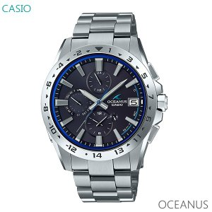 メンズ 腕時計 7年保証 送料無料 カシオ オシアナス ソーラー 電波 OCW-T3000-2AJF 正規品 CASIO OCEANUS|mcoy