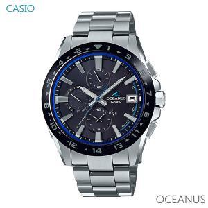 メンズ 腕時計 7年保証 送料無料 カシオ オシアナス ソーラー 電波 OCW-T3000A-1AJF 正規品 OCEANUS Classic Line|mcoy