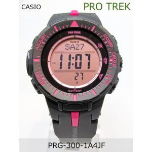 【7年保証】PROTREK メンズ 男性用ソーラー腕時計 トリプルセンサーVer.3搭載 【PRG-300-1A4JF】(国内正規品)|mcoy